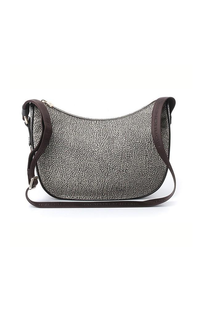 BORBONESE Bag SMALL Female O.P. NATURAL-BROWN - 934776-296-C45