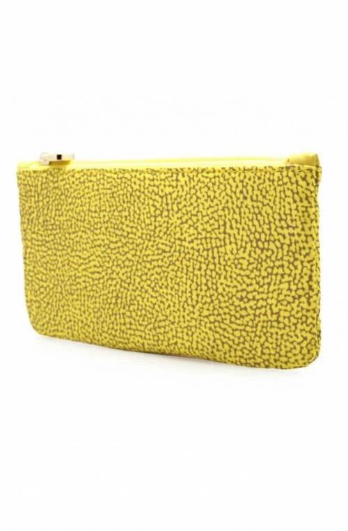 BORBONESE Beauty case Female Yellow - 932011-X96-W80