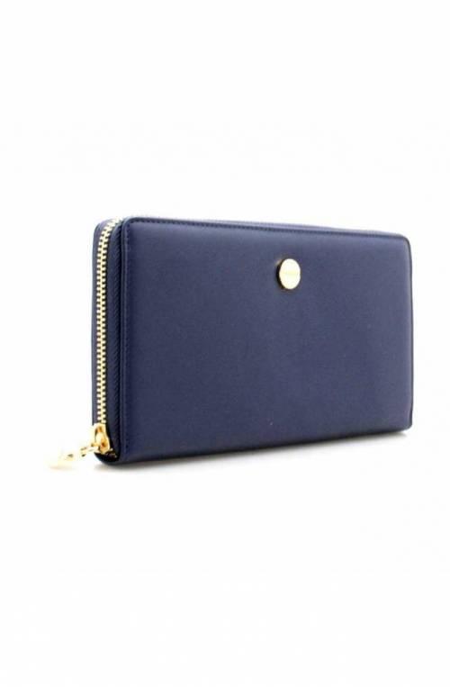 BORBONESE Wallet Female Blue - 910540-I62-U83