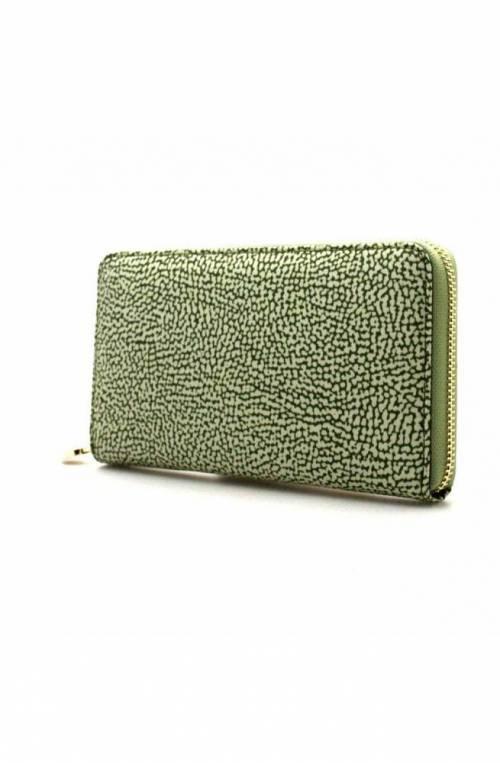 BORBONESE Wallet Female Green - 930134-X96-W81