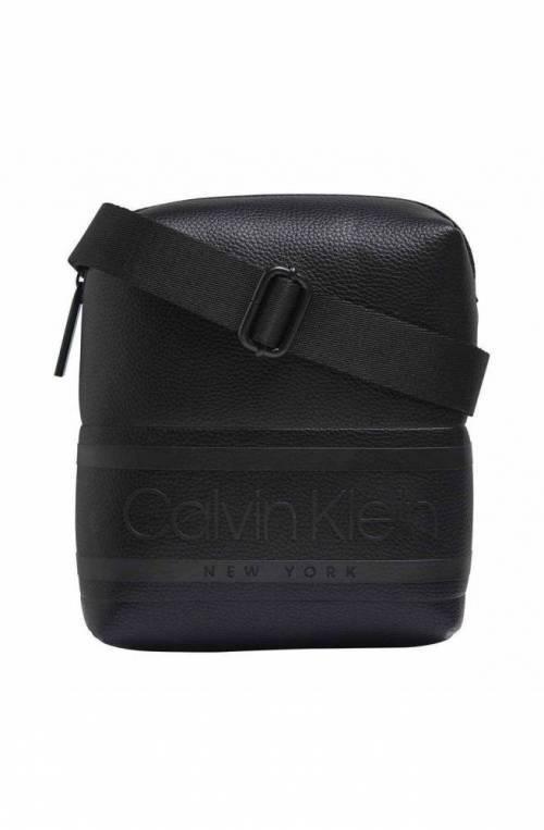 CALVIN KLEIN Bag STRIPED Logo Male Black - K50K505648BAX