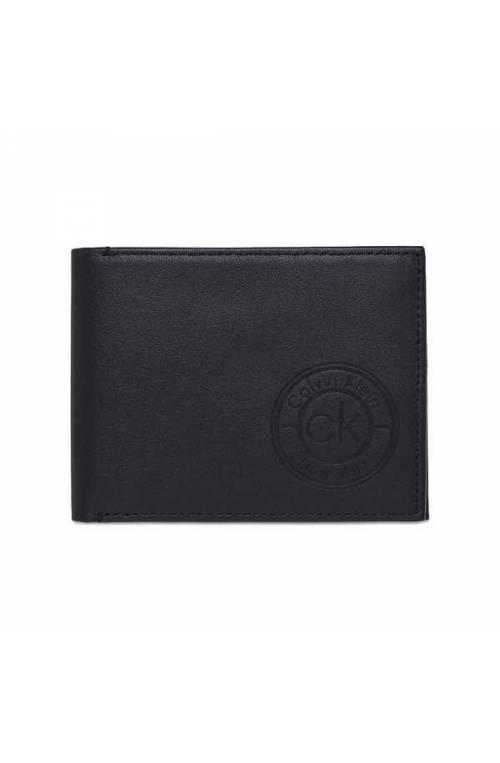 CALVIN KLEIN Wallet CK AVAILED Male Leather Black - K50K505406CEF