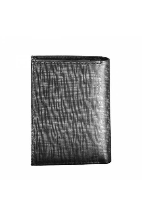 CALVIN KLEIN Wallet SIGNATURE Male Leather Black - K50K505430BAX