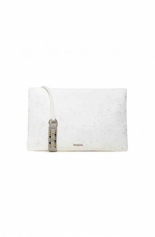 Beauty case DESIGUAL METALLIC SPLATTER Donna Bianco - 18SAYPAB-1001-U