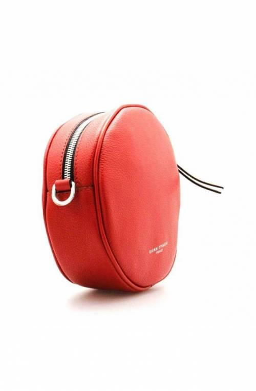 GIANNI CHIARINI Bag Female Leather Red- 663520PEOLXNA7102