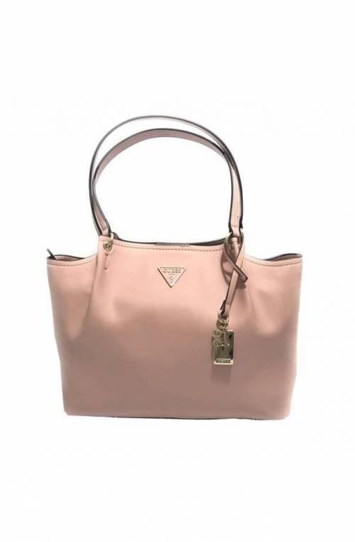 Borsa GUESS GIRLFRIEND Donna shopping Rosa Antico - HWUE7664230RWO