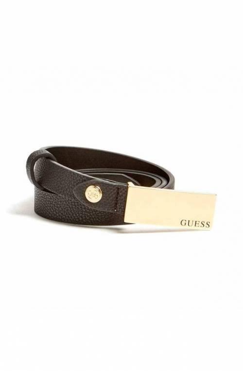 GUESS Belt ASHER Female M Black - BW7281VIN20BLA-M