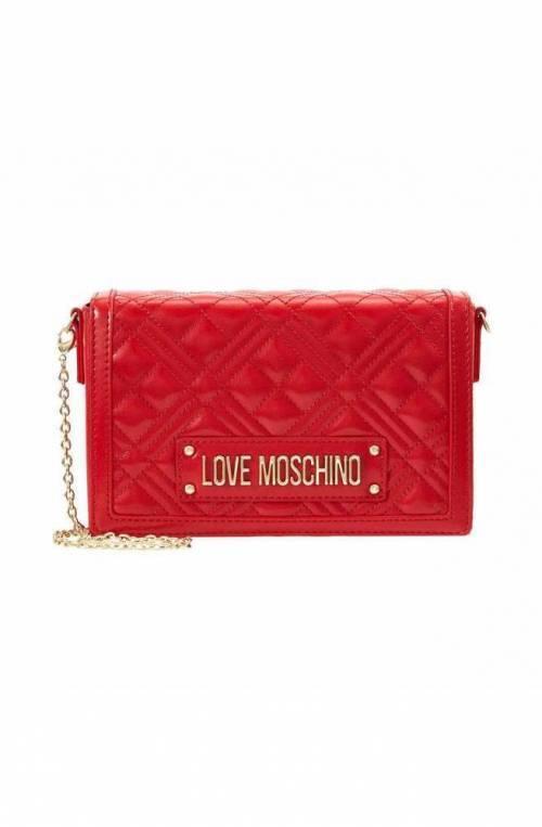 Borsa LOVE MOSCHINO Donna Rosso Trapuntato - JC4054PP1ALI0500