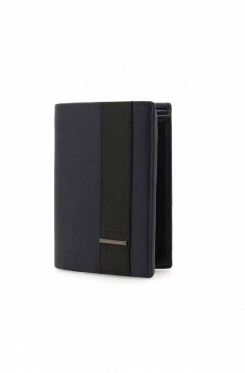Portafoglio SAMSONITE OPENROAD Uomo Pelle Blu protezione anti-frode RFID - CR3-01109