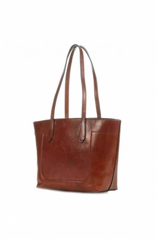 The Bridge Bag Female Leather Brown - 04361001-14