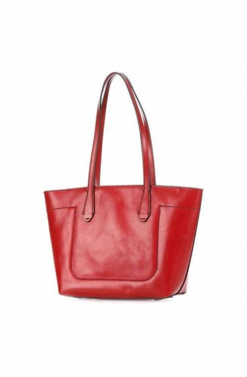 The Bridge Bag Female Leather Red - 04361001-9I