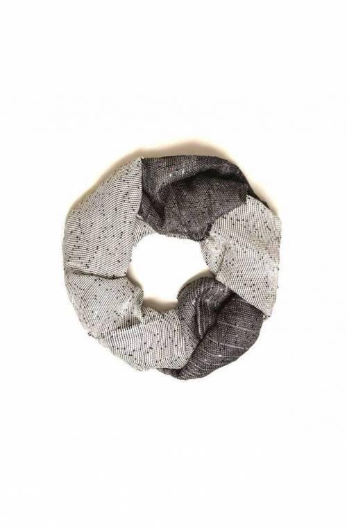 TWIN-SET Scarf paiette Ladies Black-Ivory - 201TA4361-01705