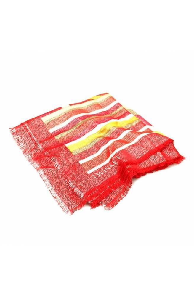 TWIN-SET Bufanda Mujer Multicolor Rojo - 201TA436A-04748