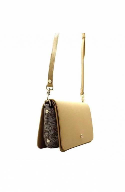 BORBONESE Bag Female Leather Beige - 963867-I60-U77