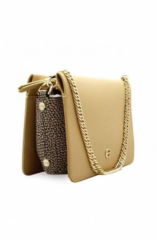 BORBONESE Bag Female Leather Beige - 963868-I60-U77