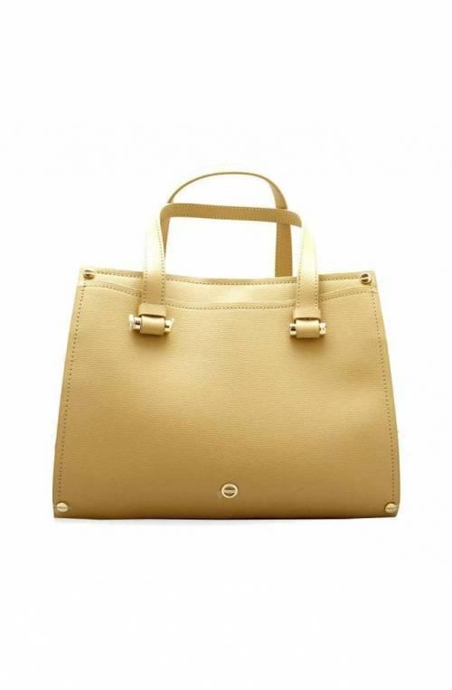 BORBONESE Bag Female Leather Beige - 963873-I60-U77