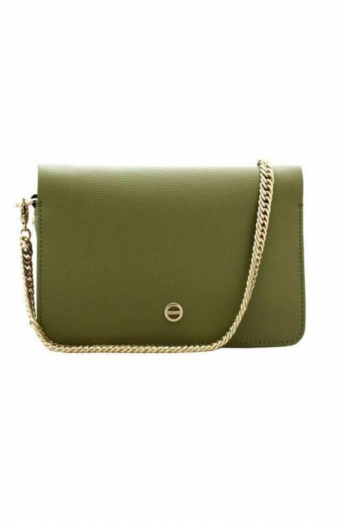 BORBONESE Bag Female Leather Military Green - 963868-I60-U81