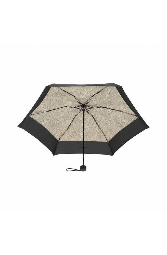 BORBONESE Regenschirm Schwarz Damen - 6DS802-M36-X11