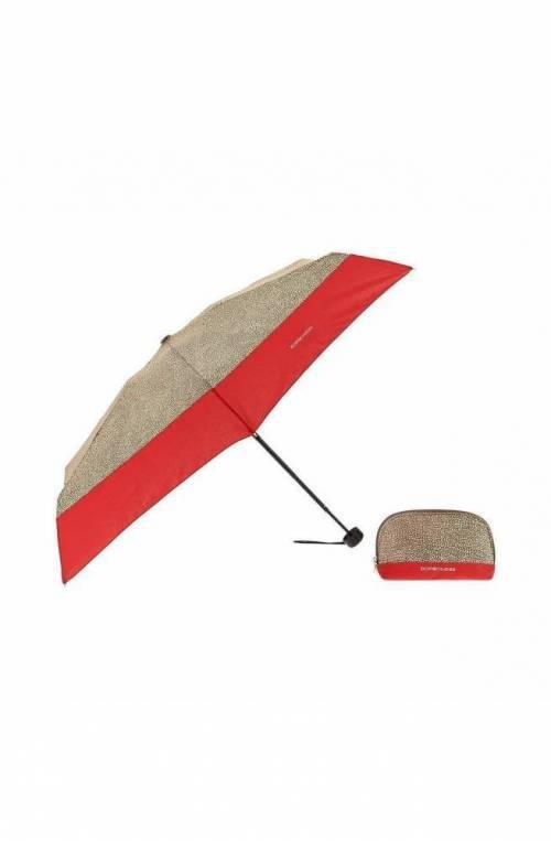 Ombrello BORBONESE Rosso Donna - 6DS802-M36-X15
