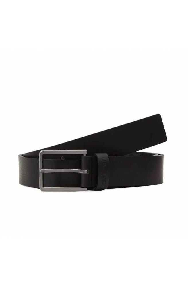 Cintura CALVIN KLEIN ESSENTIAL Uomo Pelle Nero - K50K505447BAX-100