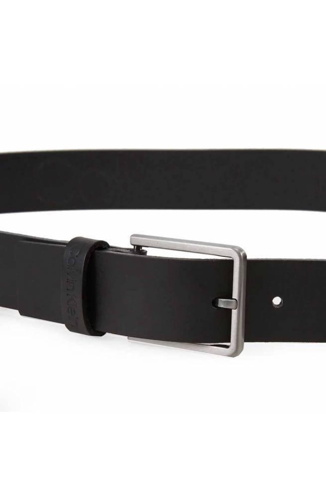 CALVIN KLEIN Cinturón ESSENTIAL Hombre Cuero Negro - K50K505447BAX-105