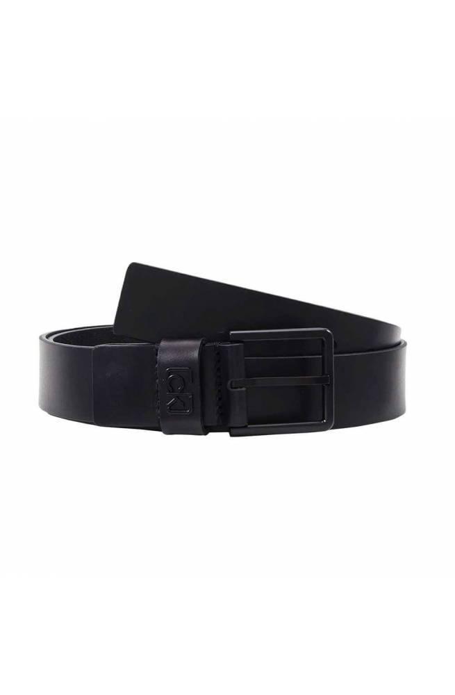 CALVIN KLEIN Cinturón SIGNATUR Hombre Cuero Negro - K50K505459BAX-115