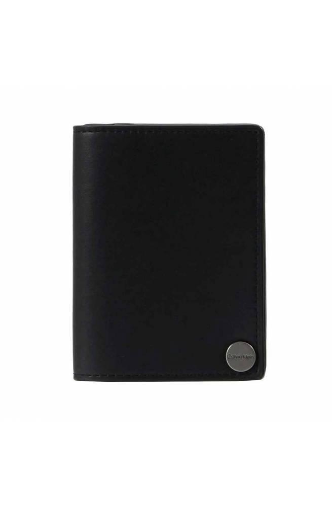 Porta carte di credito CALVIN KLEIN TRAVEL Uomo Nero - K50K505146BDS