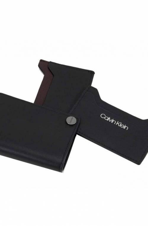 CALVIN KLEIN Credit card case TRAVEL Male Black - K50K505146BDS