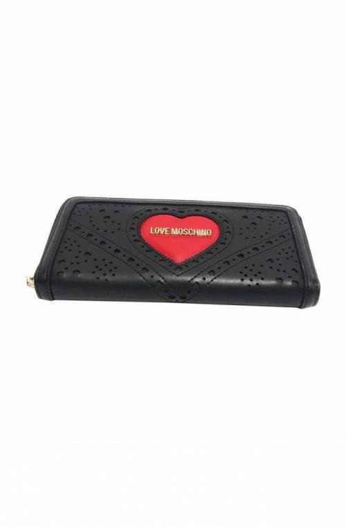 LOVE MOSCHINO Wallet Female Black - JC5624PP0AKC100A