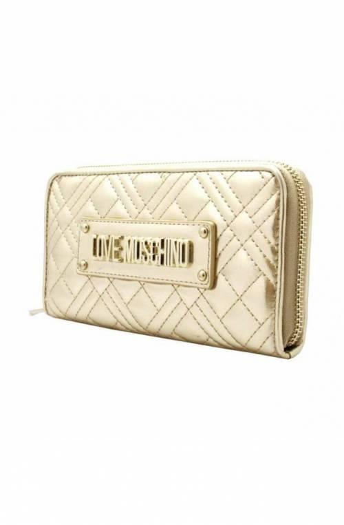 LOVE MOSCHINO Wallet Female Platinum - JC5620PP0AKA0900