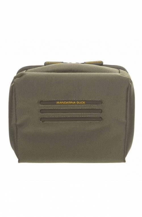 Beauty case Mandarina Duck Work now Unisex Verde militare - P10SKM01061
