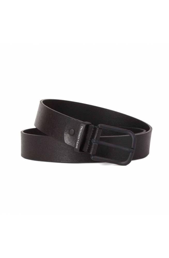 Cintura TRUSSARDI JEANS BUSINESS AFFAIR Uomo Pelle Nero - 71L000819Y0-K299-105