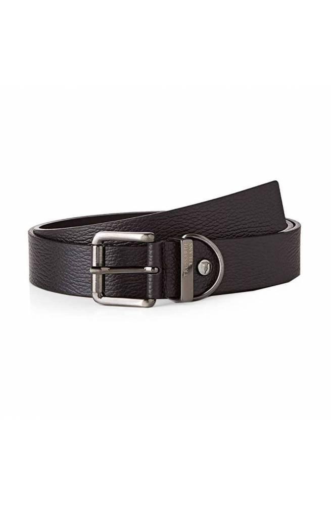 Cintura TRUSSARDI JEANS Uomo Pelle 120 Nero - 71L001139Y0-K299-120