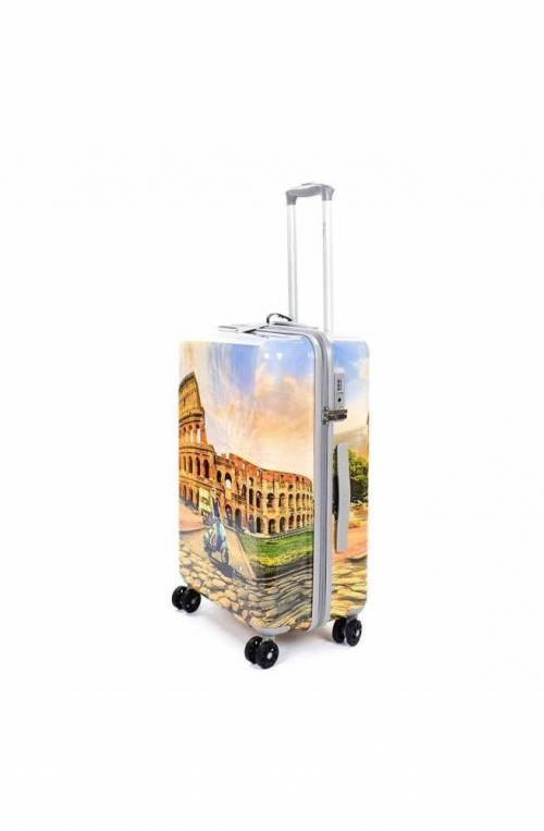 Trolley YNOT ROME Beige TSA lock Donna - PRC-1002S0-BEIGE