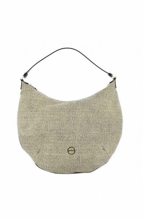 BORBONESE Bag Woman hobo Leather Op.Classic Brown - 924366-648-306