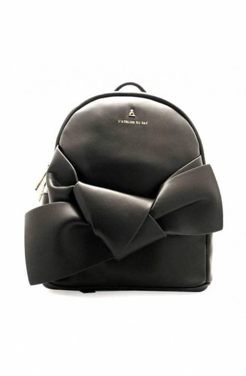 PashBAG Backpack Starlight Female Black With pashmina coordinated - PashBAG_9705