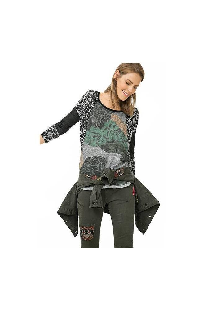 T-shirt da donna Desigual modello LAURITA - 67T24Q8-4003-L