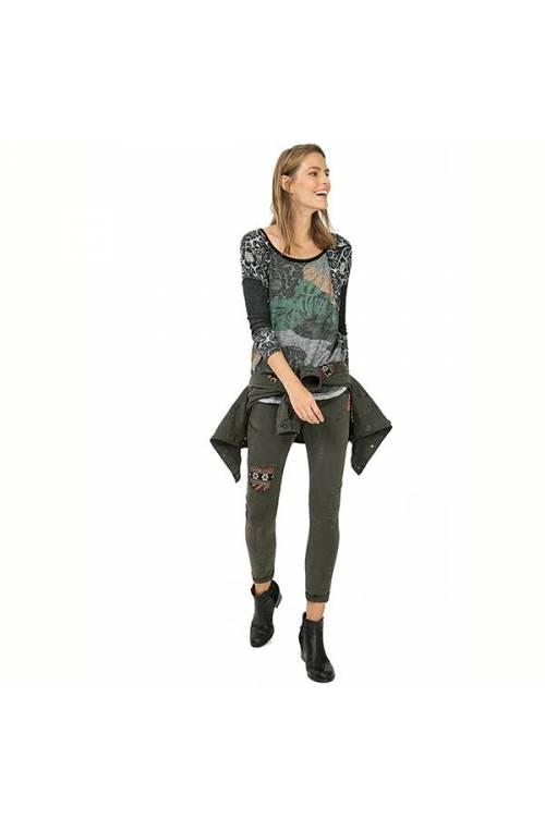 Desigual women's LAURITA T-shirt 67T24Q8-4003-L