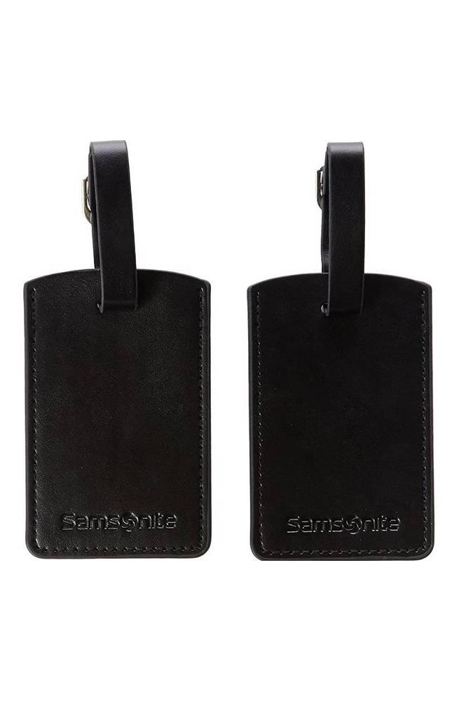 Samsonite rettangoli porta indirizzo in pelle nero U23009205