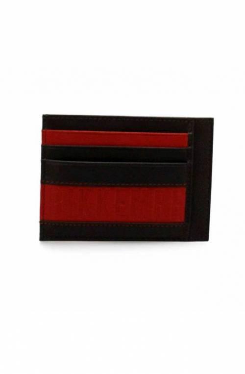 BIKKEMBERGS porta tarjetas de crédito LAYER Hombre Piel marrón - E2APME883093026