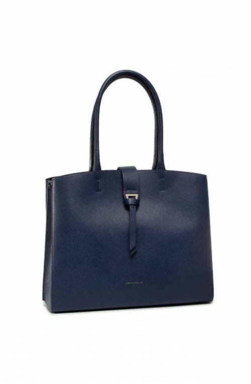 COCCINELLE Bag Alba Medium Female Leather Blue - E1F55110101B12
