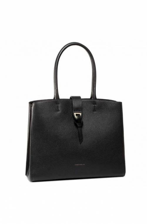 COCCINELLE Bag Alba Medium Female Leather Black - E1F55110101001