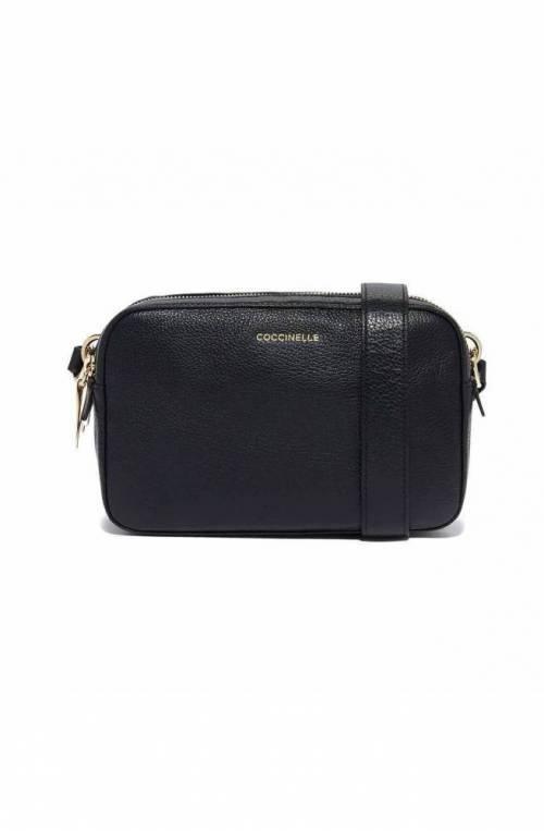 COCCINELLE Bag ALPHA Female Strap Leather Black - E1FS5150401001