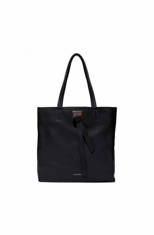 COCCINELLE Bolsa Joy Mujer Tote Cuero Negro - E1FL5110101001