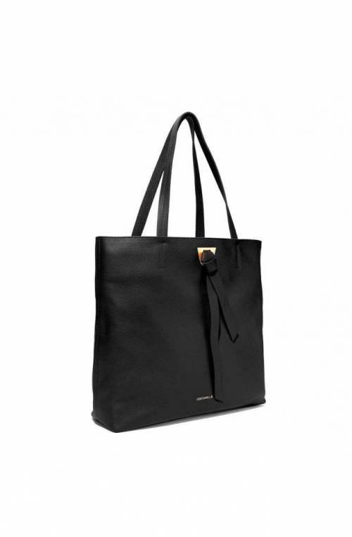 COCCINELLE Bag Joy Female Tote Leather Black - E1FL5110101001