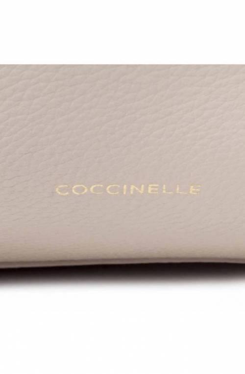 COCCINELLE Bag Joy Female Tote Leather Seashell - E1FL5110101N43