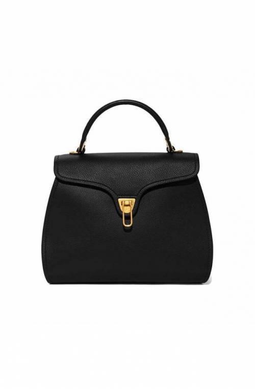 COCCINELLE Bolsa Marvin Mujer Correa Piel Negro - E1FP0180301001
