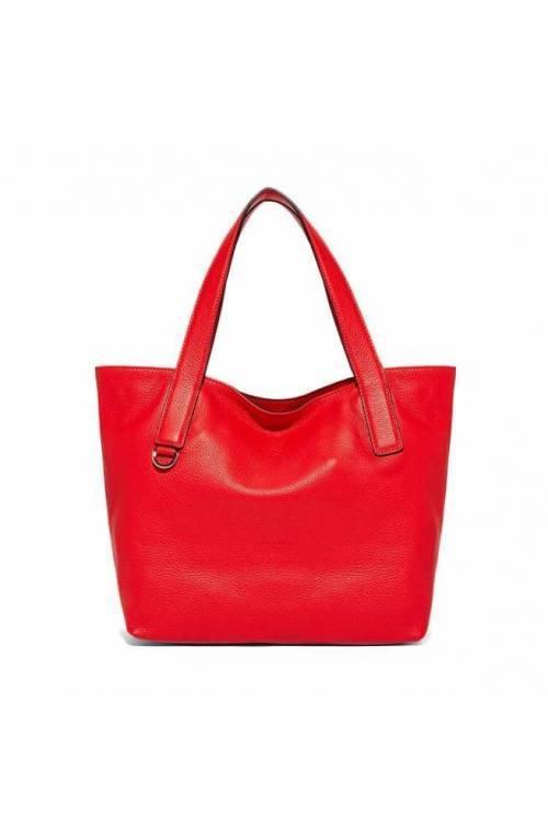 COCCINELLE Bolsa Mila Mujer Tote Cuero rojo - E1FE5110201R08
