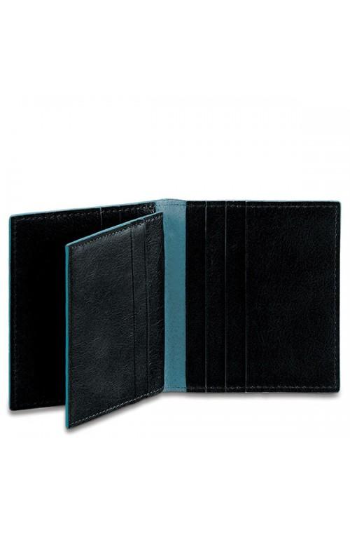 Porta carte di credito PIQUADRO Blue Square Nero PP1518B2-N