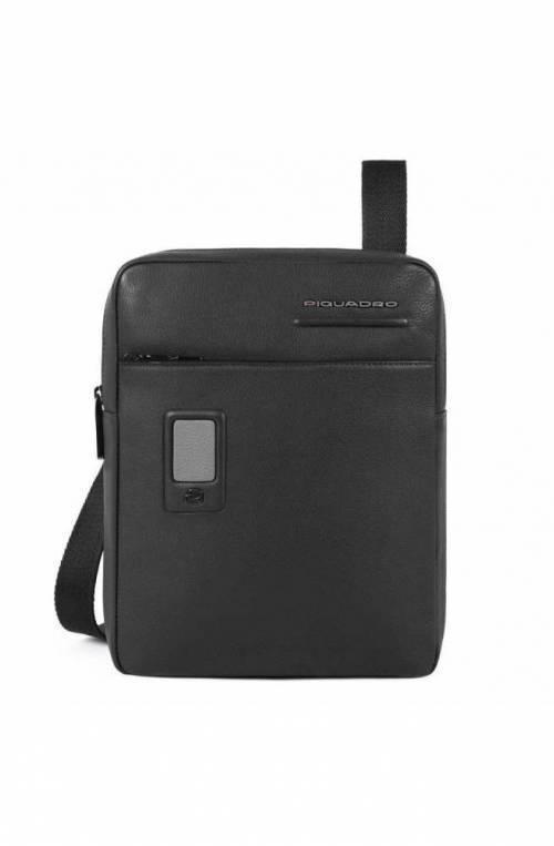 PIQUADRO Bolsa Akron Hombre Negro personalizable - CA1816AO-N